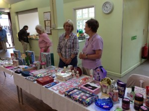 Coffee morning Tombola